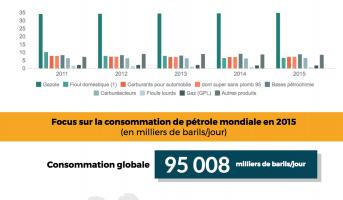 Consommation de pétrole et produits pétroliers : le point