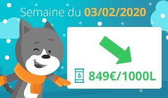 prix-du-fioul-domestique-semaine-du-03 -février -2020