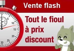 Ventes flash de fioul : achetez moins cher
