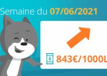 prix du fioul 7 juin 2021