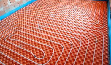 Chaudière à condensation et plancher chauffant